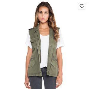 Military style vest - Velvet by Graham & Spencer